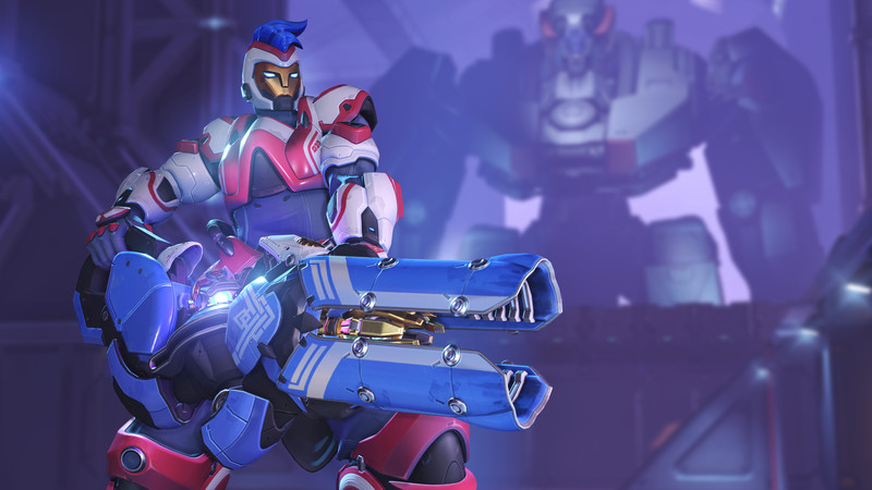 Anniversary Edition promotional cosmetic skin for Zarya